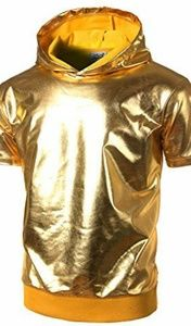 🔥Mens Gold shirt xxl and L